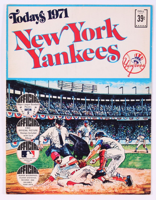 1971 New York Yankees Official Baseball Album