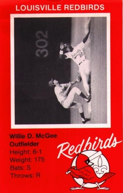 1982 Louisville Redbird Team Set