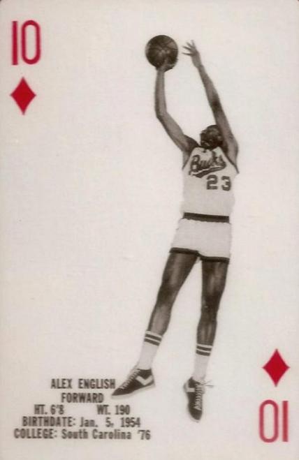 1976-77 Milwaukee Bucks Complete Playing Card Deck