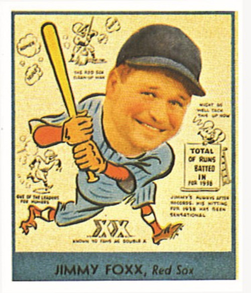 1938 Goudey Heads Up Reprint Set