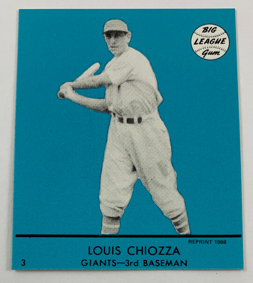 1941 Goudey Reprint Blue Set
