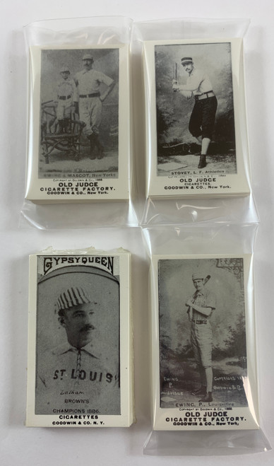 N172 Old Judge Type Reprint All 4 Series