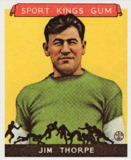 1933 Goudey Sport Kings Reprint Set
