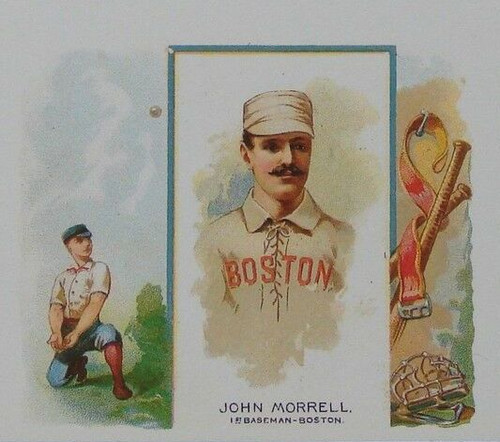 1888 N43 Allen & Ginter Large Card Reprint Set