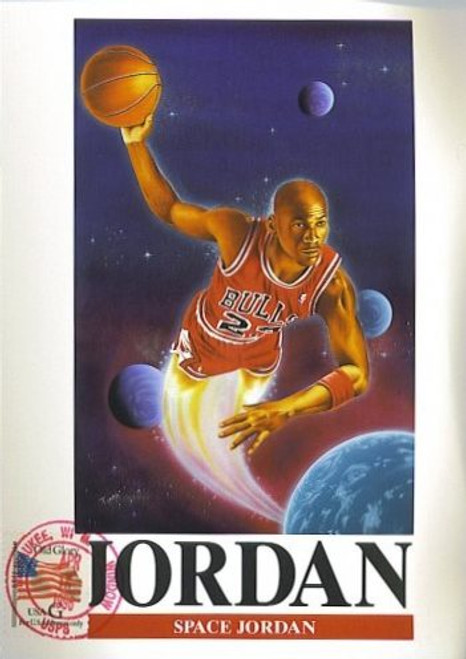 1996 Limited Edition Bulls Michael Jordan Collectible