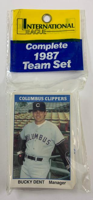 1987 TCMA Columbus Clippers