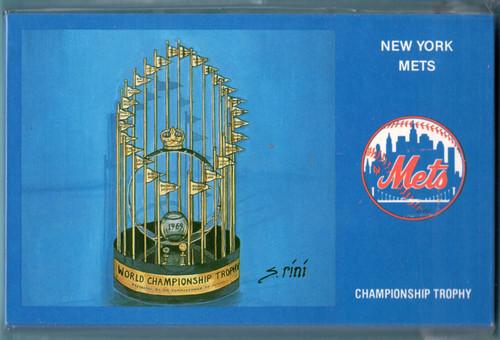 Susan Rini 1969 NY Miracle Mets Postcard Set