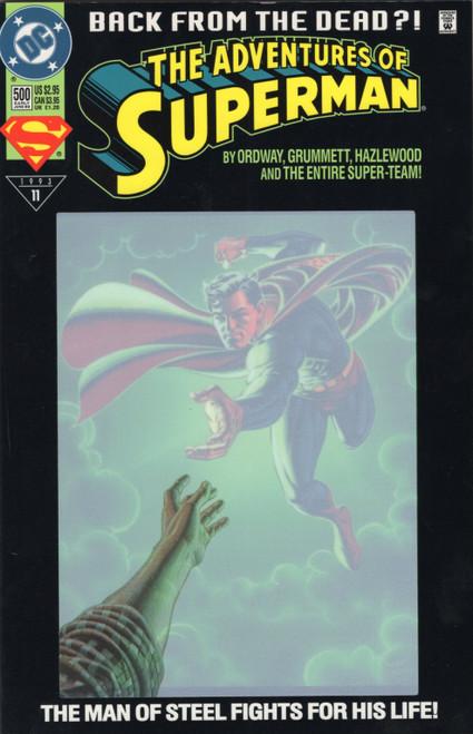 Adventures of Superman Comic Book (June 1993)