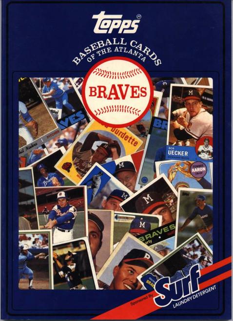 1987 Topps Surf Book Atlanta Braves