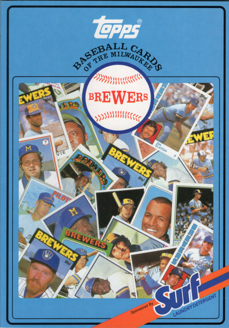 1987 Topps Surf Book Milwaukee Brewers