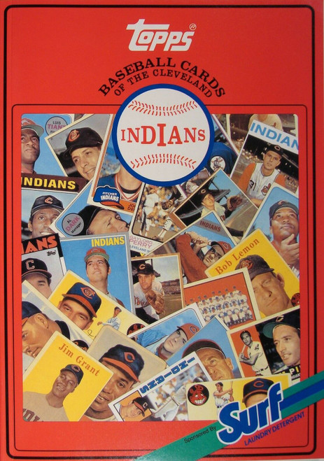 1987 Topps Surf Book Cleveland Indians
