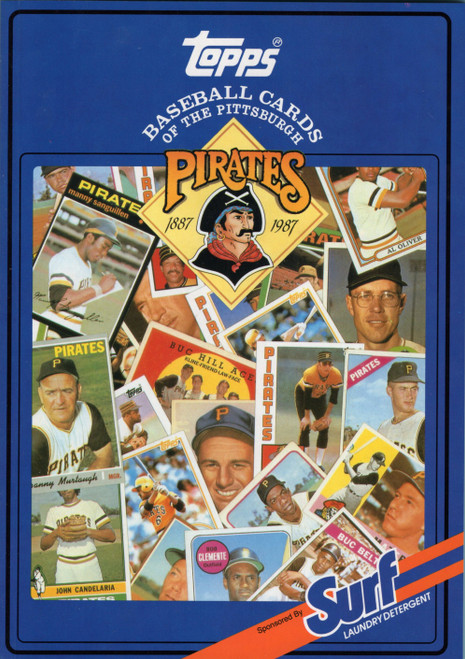 1987 Topps Surf Book Pittsburgh Pirates