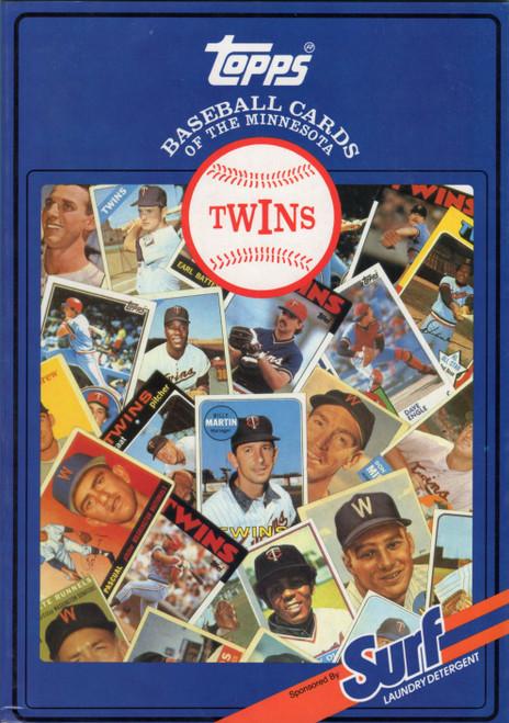 1987 Topps Surf Book Minnesota Twins
