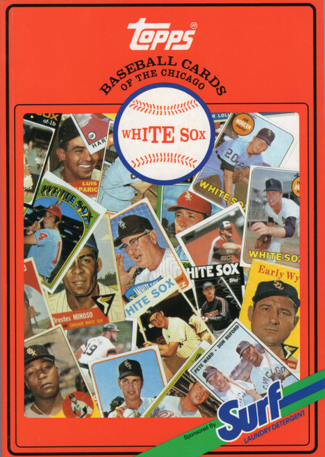 1987 Topps Surf Book Chicago White Sox