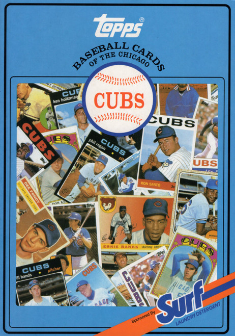 1987 Topps Surf Book Chicago Cubs