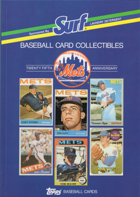 1988 Topps Surf Book New York Mets