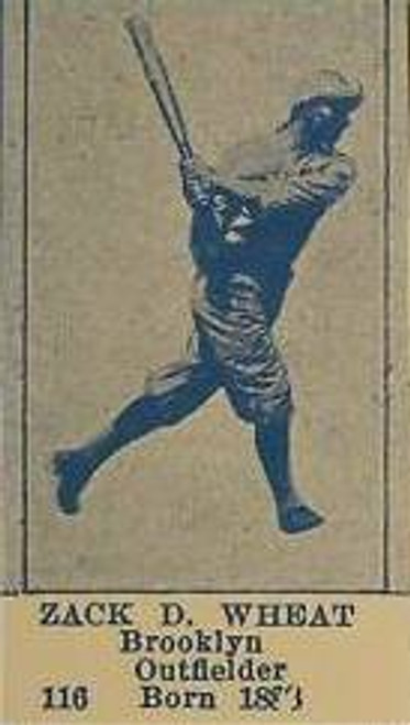 1925 Universal Toy Brooklyn Dodgers Set & Team Card Reprint