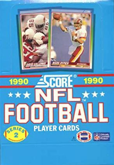 1990 Score Football Series #2 Unopened box