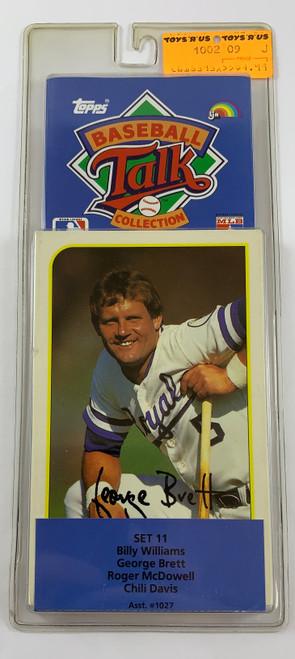1989 Topps Baseball Sports Talk Set #11
