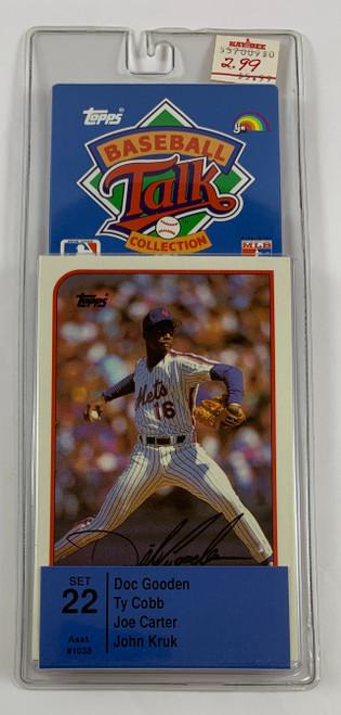 1989 Topps Baseball Sports Talk Set #22