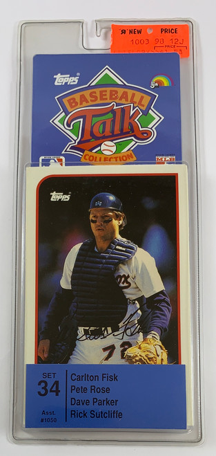 1989 Topps Baseball Sports Talk Set #34