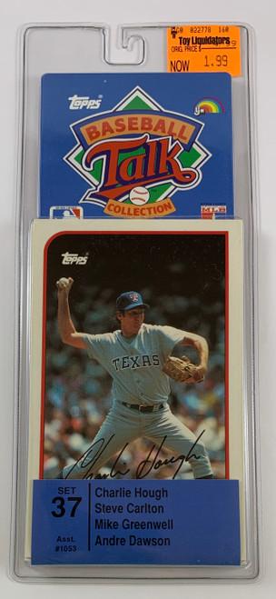 1987 Topps Baseball Sports Talk Set #37