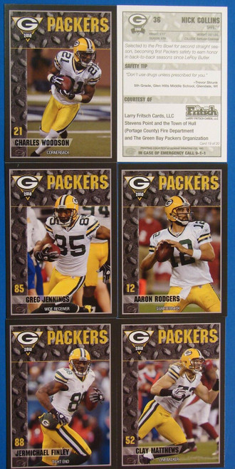 2001 Green Bay Packers Police Set
