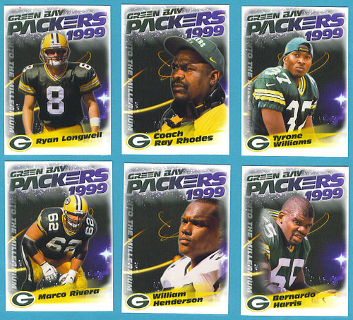 1999 Green Bay Packers Police Set