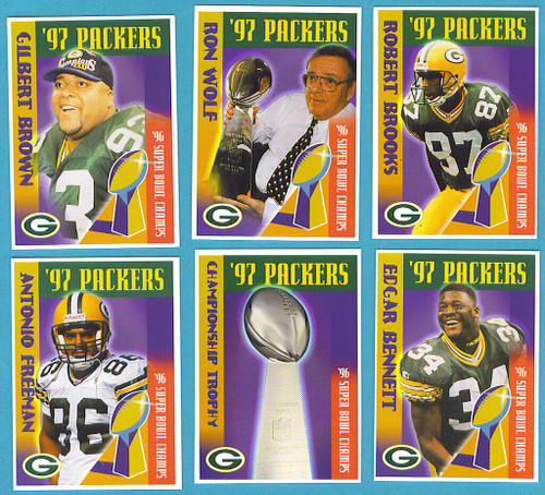 1997 Green Bay Packers Police Set
