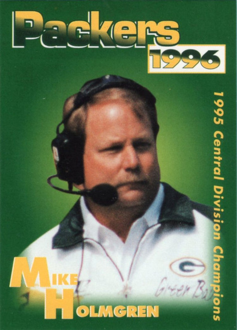 1996 Green Bay Packers Police Set