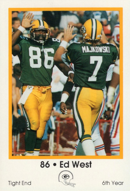 1989 Green Bay Packers Police Set