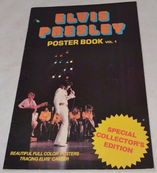 1977 Elvis Presley Poster Book