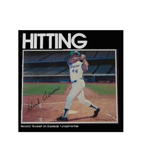 1973 Audio Sports Hitting by Hank Aaron Record/Booklet