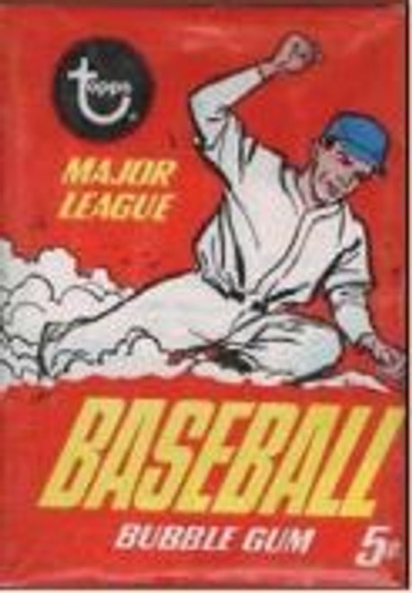 1967 Topps Baseball Wax Pack