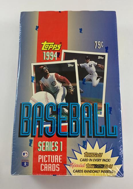 1994 Topps Baseball Series 1 Box