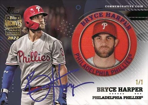 2022 Topps Archives Signature Series Baseball - Active Players