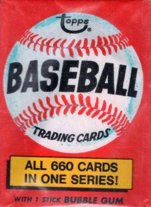 1976 Topps Baseball Wax Pack