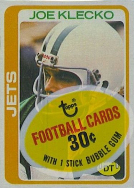 1978 Topps Football Cello Pack