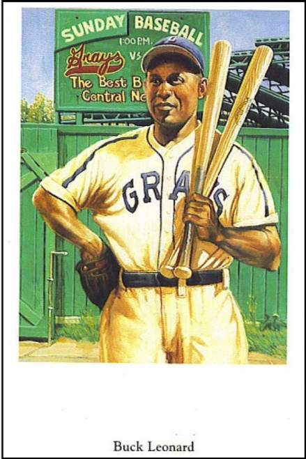 Negro League Fine Art Postcard Set