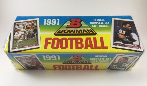 1991 Bowman Football Factory Set