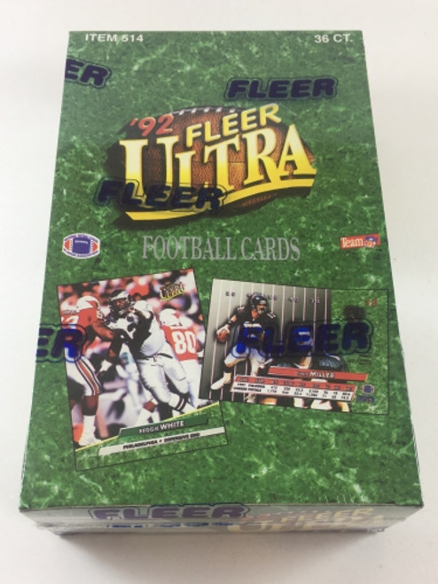 1992 Fleer Ultra Football Unopened Box