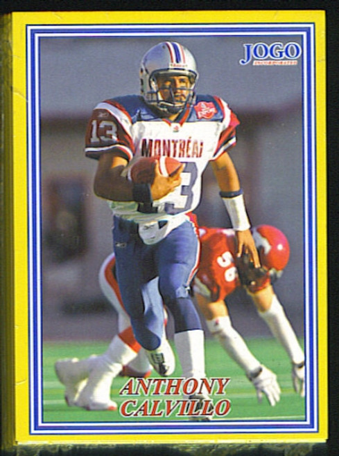 2004 JOGO CFL Series#3 Set (Back-White Border)