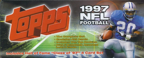 1997 Topps Football Factory Set