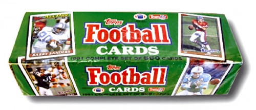 1991 Topps Football Factory Set