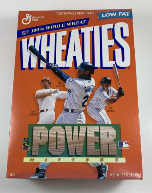 Wheaties Power Hitters Cereal Feat. McGwire, Griffey, Martinez