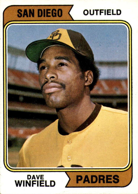 1974 Topps Baseball San Diego Set