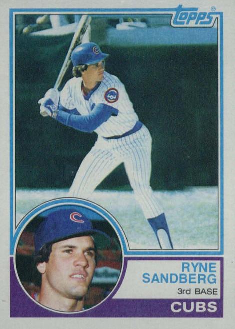 1983 Topps Baseball Set