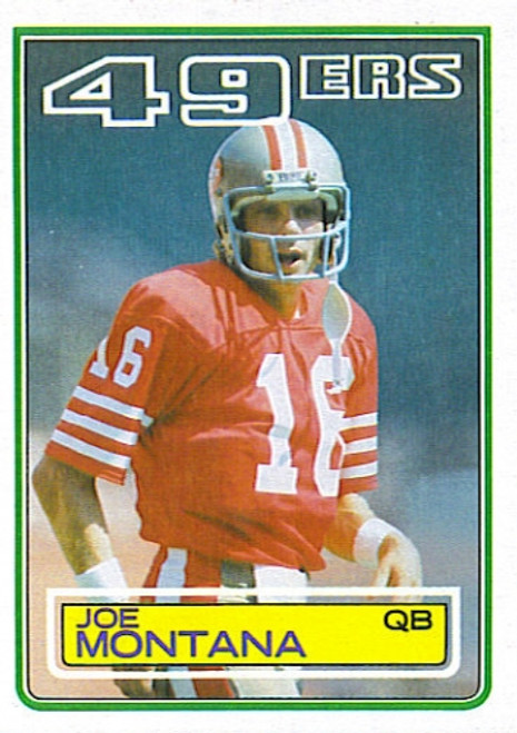 1983 Topps Football Set