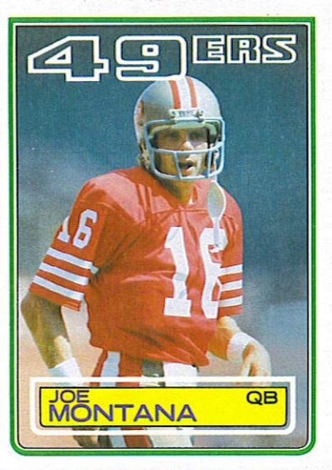 1983 Topps Football Set