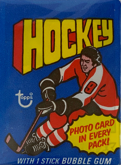 1976-77 Topps Hockey Wax Pack